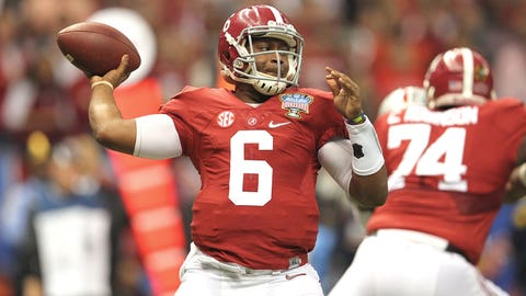 QB Blake Sims, Alabama (South)