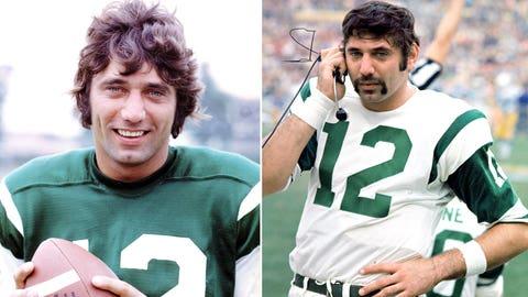 New York Jets: QB Joe Namath, first round (1 overall), 1965