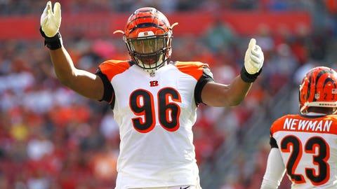 Cincinnati Bengals -- DE Carlos Dunlap