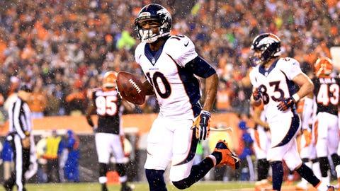 Denver Broncos -- WR Emmanuel Sanders