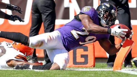 26 -- RB Justin Forsett, Ravens