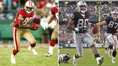 #20 -- WR Jerry Rice, Oakland Raiders