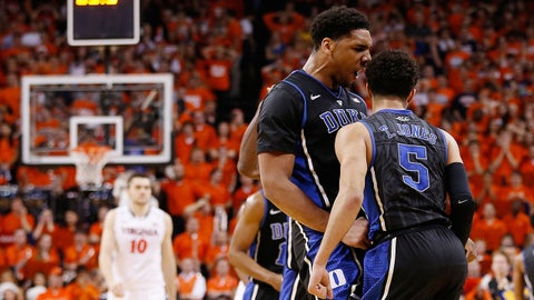 Apple Valley product Tyus Jones is one of Okafor's best friends