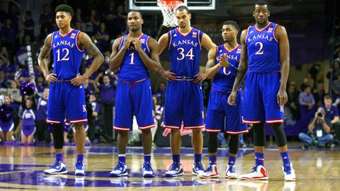 Tip #9: Don't fall in love with 2-seed Kansas after Friday