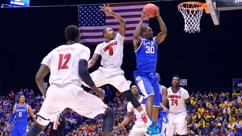 21 -- 2014: (8) Kentucky 74, (4) Louisville 69