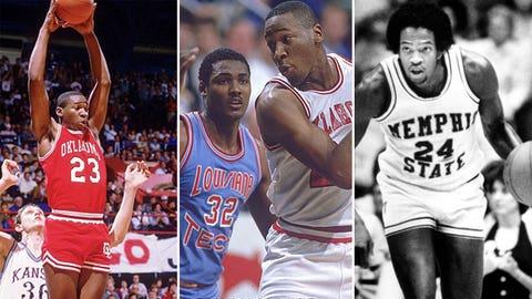16 -- 1985: (1) Oklahoma 86, (5) Louisiana Tech 84 (OT)