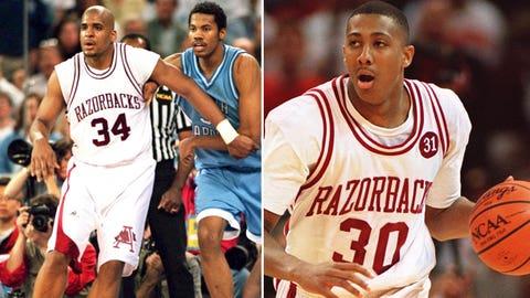 25 -- 1995: (2) Arkansas 96, (6) Memphis 91 (OT)