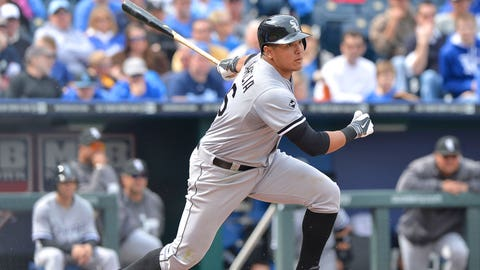 15 -- OF Avisail Garcia, Chicago White Sox