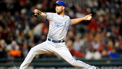 11 -- SP Danny Duffy, Kansas City Royals