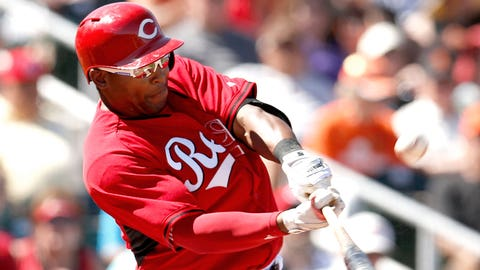 9 -- OF Marlon Byrd, Cincinnati Reds
