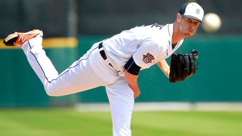 16 -- SP Shane Greene, Detroit Tigers
