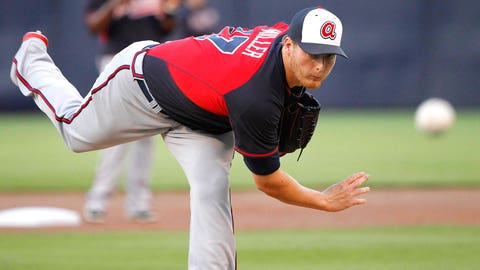 8 -- SP Shelby Miller, Atlanta Braves