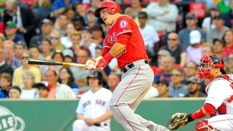 Prediction #3: Mike Trout will lead the AL in runs ... and triples