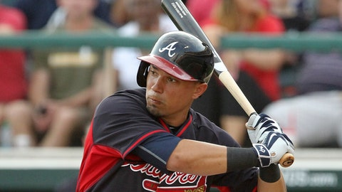 Jace Peterson, 2B, Atlanta Braves
