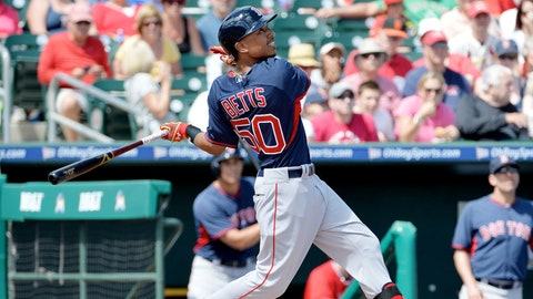 Mookie Betts, CF, Boston Red Sox