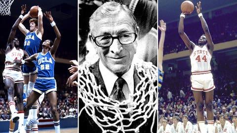 2 -- 1974: North Carolina State 80, UCLA 77 (OT)