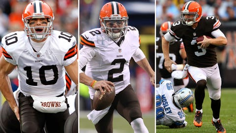 Rule No. 4: The beleaguered Browns can never select a QB with the 22nd pick