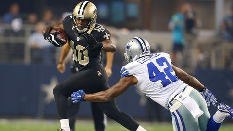 20. New Orleans Saints -- WR Brandin Cooks