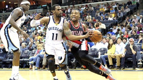 (4) Portland Trailblazers vs. (5) Memphis Grizzlies