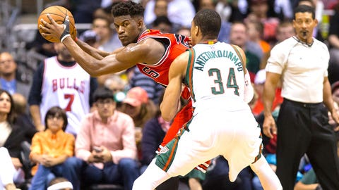 (3) Chicago Bulls vs. (6) Milwaukee Bucks