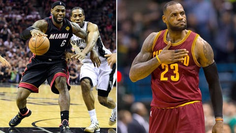 (2) Cleveland Cavaliers vs. (7) Boston Celtics