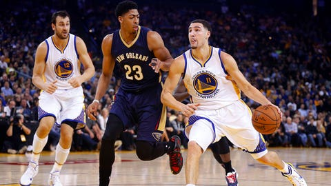 WEST -- (1) Golden State Warriors vs. (8) New Orleans Pelicans