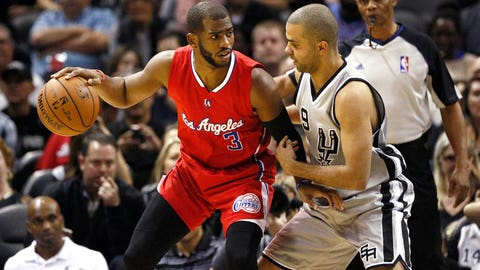 (3) Los Angeles Clippers vs. (6) San Antonio Spurs