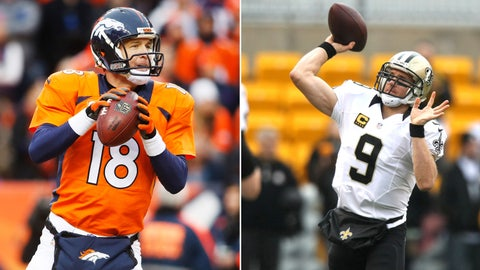 Will the Broncos, Saints or Patriots, reach for a quarterback of the future?