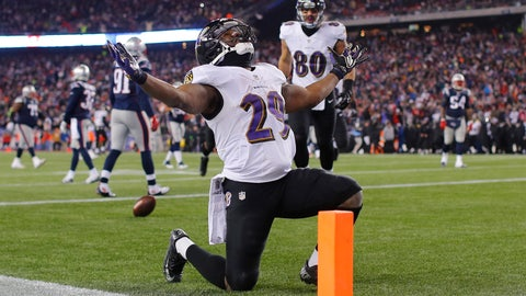 Will the Ravens look for help at running back in the first round?