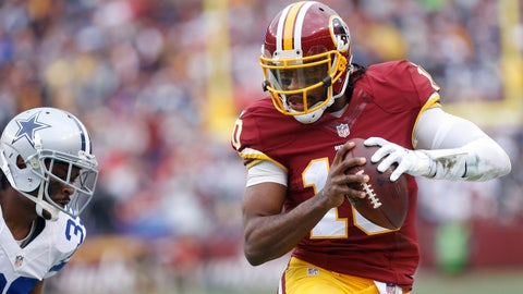 The Redskins picked up RG3's option. Will this keep them from exploring an early quarterback?