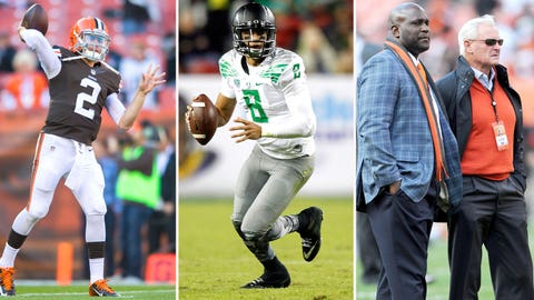 The Browns will trade up to the No. 2 slot ... and draft QB Marcus Mariota
