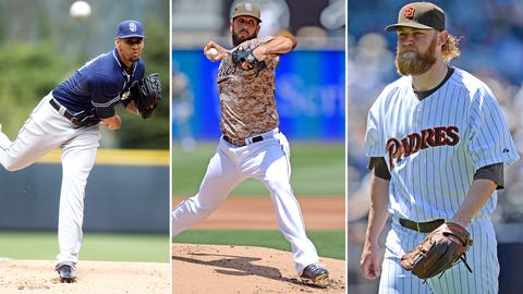 3 -- San Diego Padres