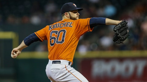 Dallas Keuchel -- Potential ace material to unhittable