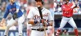 The Major League Baseball all-stars at the seasonal quarter mark