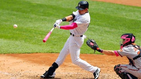 Outfielder -- Jacoby Ellsbury, New York Yankees