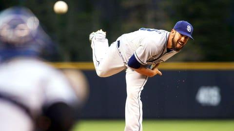 Starting Pitcher -- James Shields, San Diego Padres