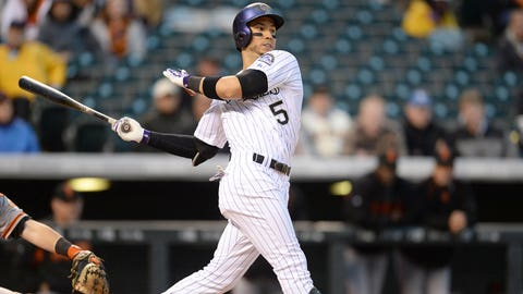 OF Carlos Gonzalez, Colorado Rockies