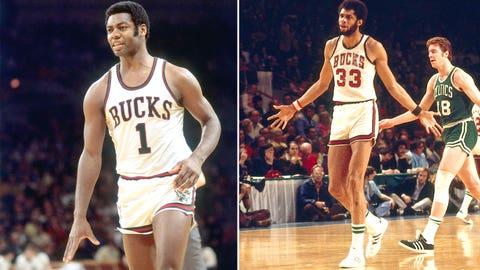 3. 1972 Milwaukee Bucks