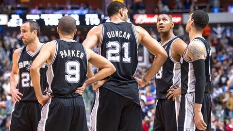 1. 2013 San Antonio Spurs