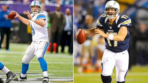 Week 1 -- Chargers over Lions