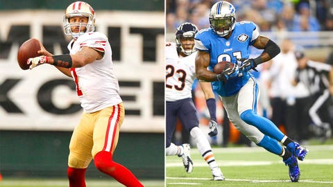 Week 16 -- Lions over 49ers