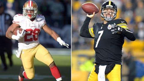 Week 2 -- Steelers over 49ers