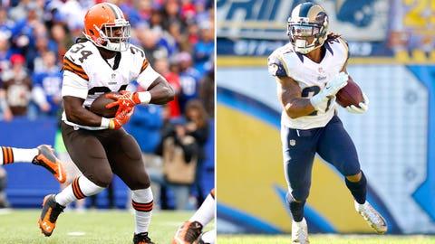 Week 7 -- Rams over Browns