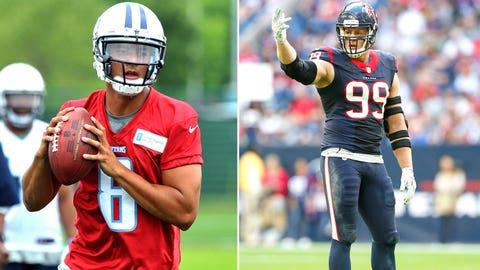 Week 8 -- Texans over Titans
