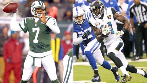 Week 9 -- Jets over Jaguars