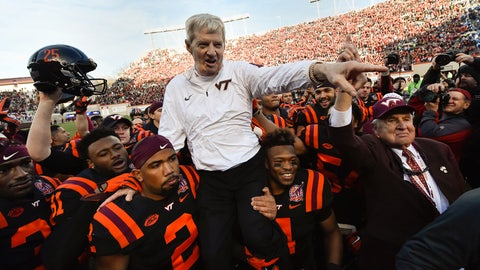 NCAA Football (career coach): Frank Beamer
