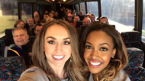 FOX Sports South Girls promote FOX Sports GO