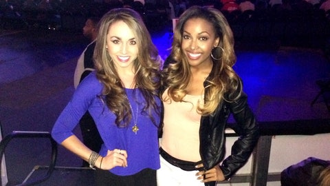 FOX Sports South Girls at UFC Fight Night 35
