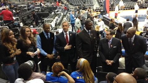 Canicka and Morgan Introduce Hawks Broadcast Team