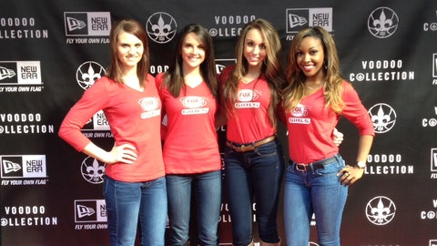 FOX Sports Girls at NBA All-Star Weekend